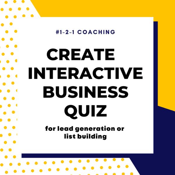Create Business Quiz Coaching