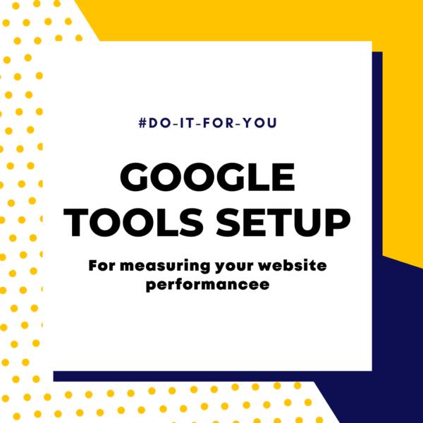 Google Tools Setup Consultation